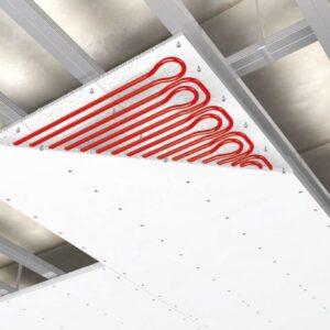 La climatizzazione del soffitto radiante
